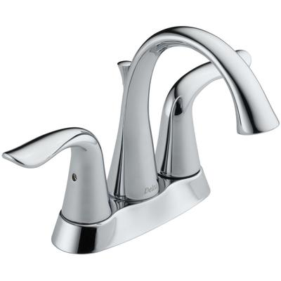 Lahara Two-Handle Center set Bathroom Faucet - Chrome