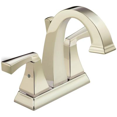 Dryden Two-Handle Center set Bathroom Faucet - Polished Nickel
