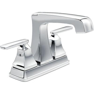 Ashlyn Two-Handle Center set Bathroom Faucet - Chrome