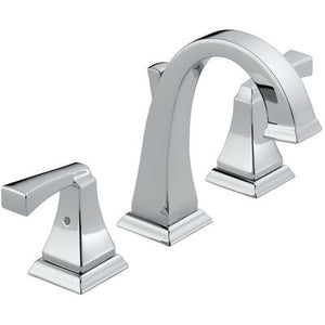 Dryden Two-Handle Widespread Bathroom Faucet - Chrome