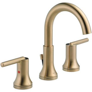 Trinsic Two-Handle Widespread Bathroom Faucet - Champagne Bronze