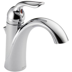 Lahara Single Handle Bathroom Faucet - Chrome