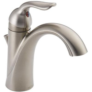 Lahara Single Handle Bathroom Faucet - Stainless