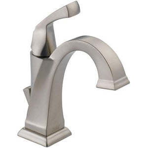 Dryden Single Handle Bathroom Faucet - SpotShield Stainless