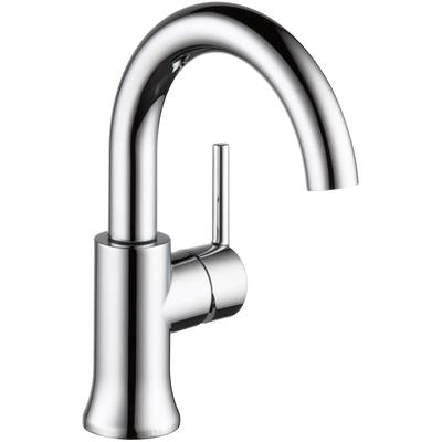 Trinsic Single Handle High-Arc Bathroom Faucet - Chrome