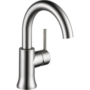 Trinsic Single Handle High-Arc Bathroom Faucet - Stainless