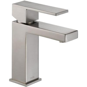 Modern Single Handle Project-Pack Bathroom Faucet - Stainless