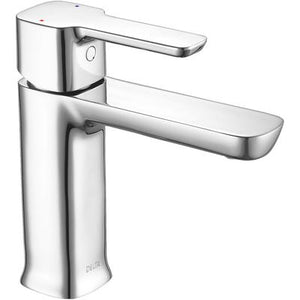 Modern Single Handle Project-Pack Bathroom Faucet - Chrome