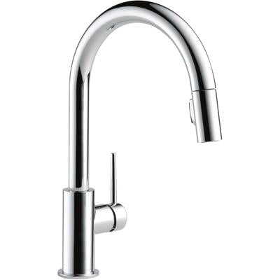 Trinsic Single Handle Pull-Down Kitchen Faucet - Chrome