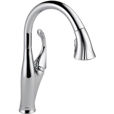 Addison Single Handle Pull-Down Kitchen Faucet with ShieldSpray Technology - Chrome