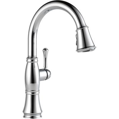 Cassidy Single Handle Pull-Down Kitchen Faucet with ShieldSpray Technology - Chrome