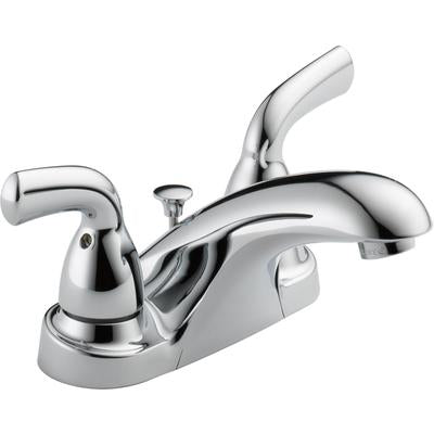 Foundations Two-Handle Centerset Bathroom Faucet - Chrome