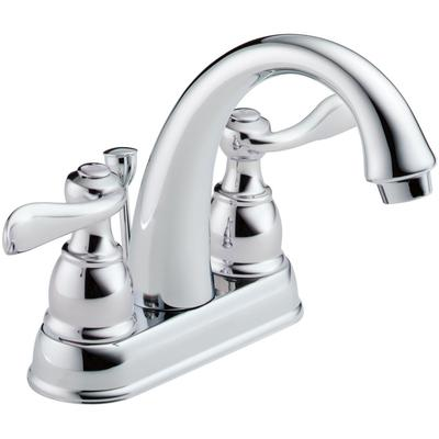 Windemere Two-Handle Centerset Bathroom Faucet - Chrome