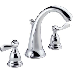 Windemere Two-Handle Widespread Bathroom Faucet - Chrome