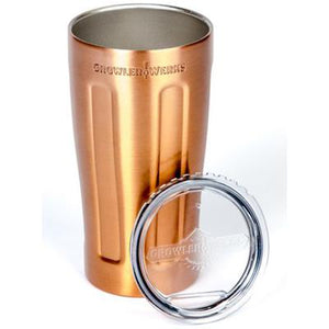uPint Vacuum Insulated Pint for Craft Beer - Copper Plated