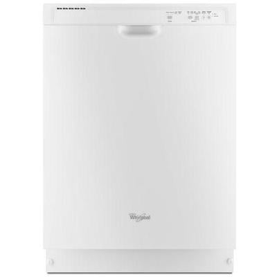 "Whirlpool 24"" Dishwasher with 1-Hour Wash Cycle"