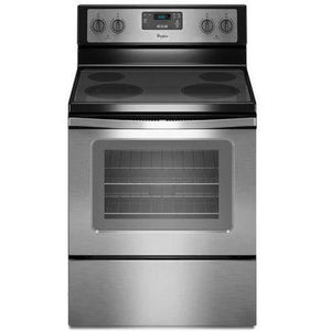 "Whirlpool 30"" Freestanding Electric Range with FlexHeat Dual Radiant Element"