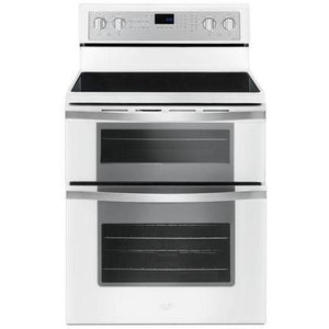 Whirlpool 6.7 cu. ft. Electric Double Oven Range with True Convection