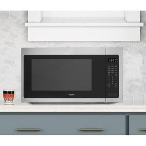 Whirlpool 2.2 cu. ft. Countertop Microwave with Fingerprint-Resistant Color Options
