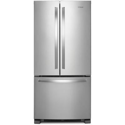 Whirlpool 33-inch Wide French Door Refrigerator - 22 cu. ft.