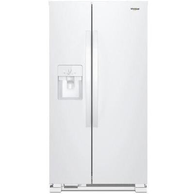 Whirlpool 33-inch Wide Side-by-Side Refrigerator - 21 cu. ft.
