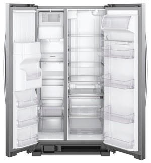"Whirlpool 33"" Wide Side-by-Side Refrigerator - 21 cu. ft."