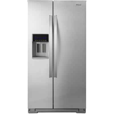 "Whirlpool 36"" Wide Counter Depth Side-by-Side Refrigerator - 21 cu. ft."