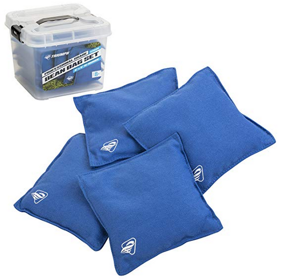 Replacement Bean Bags, 4-Pack - Blue