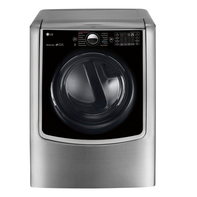 LG 9.0 Cu. Ft. 14-Cycle Smart Wi-Fi Electric Steam Dryer