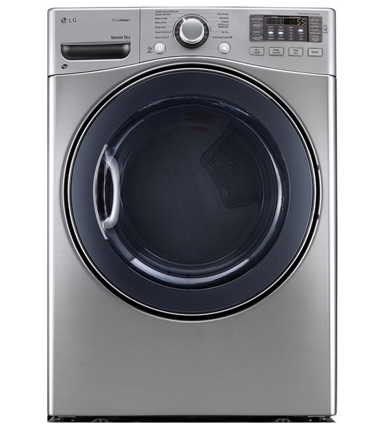 LG TrueSteam 7.4 Cu. Ft. 12-Cycle Gas Dryer with Steam
