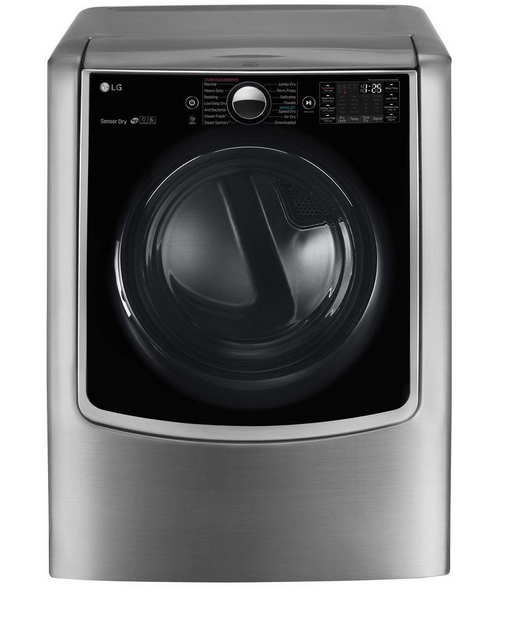 LG 9.0 Cu. Ft. 14-Cycle Smart Wi-Fi Gas Steam Dryer