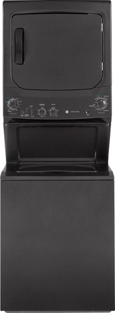 GE - Unitized Spacemaker 3.8 Cu. Ft. 11-Cycle Washer and 5.9 Cu. Ft. 4-Cycle Gas Dryer Combo
