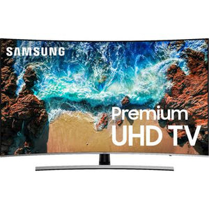 "Samsung 65"" Class - LED - Curved - NU8500 Series - 2160p - Smart - 4K UHD TV with HDR"