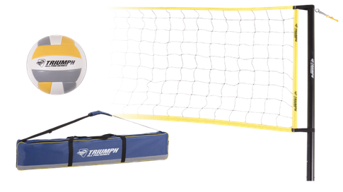 Competition Volleyball Set (steel pole)