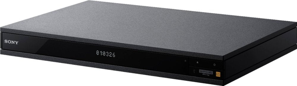 Sony UBP 4K Ultra HD Hi-Res Audio Wi-Fi Built-In Blu-Ray Player - Black