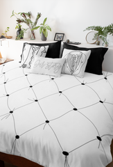 Illustrated Tufted Comforter