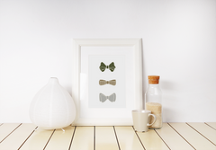 Bowtie Collection Framed Art