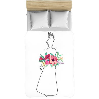 The Lady Flora Comforter - Artski&Hush