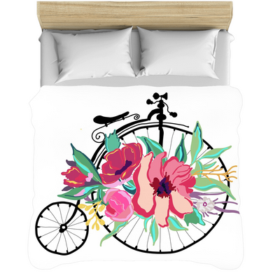 Flora Bicycle Comforters - Artski&Hush