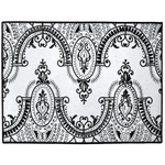 Arched Lace Indoor/Outdoor Floor Mats