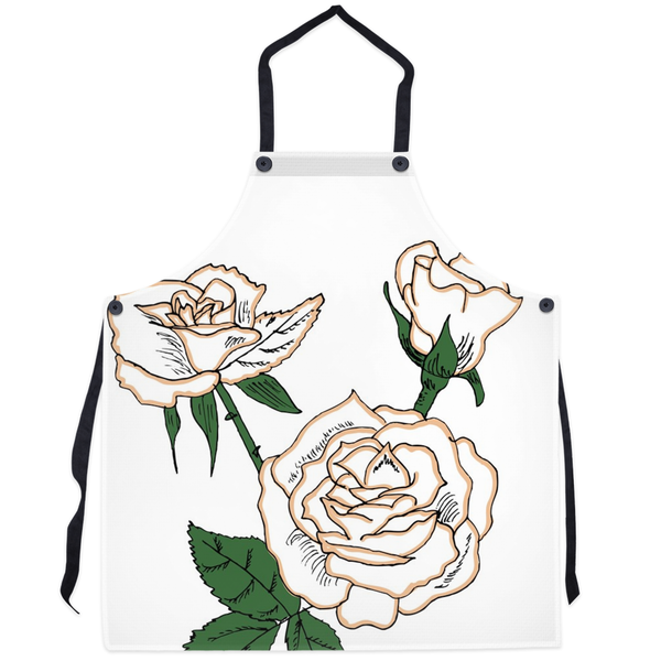 First Edition Rose Apron