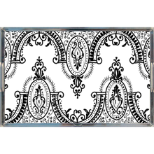 Load image into Gallery viewer, Arched Lace Acrylic Trays - Artski&Hush