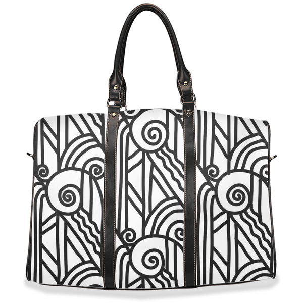 Art Deco Steam Stacks Travel Bags