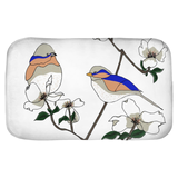 Bird & Blooms Bath Mats