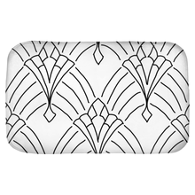 Load image into Gallery viewer, Art Deco Peaks Bath Mats - Artski&Hush
