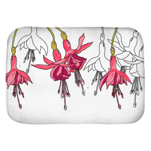 Load image into Gallery viewer, Fuchsias Bath Mats - Artski&Hush
