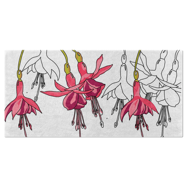 Fuchsias Bath Towel