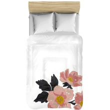 Load image into Gallery viewer, White Flora Comforters - Artski&Hush