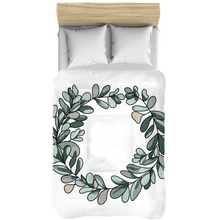 Load image into Gallery viewer, Eucalyptus Wreath Comforters