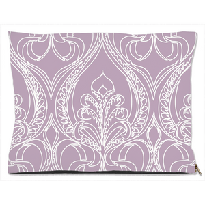 Art Deco Lilac Lily Decorative Dog Beds - Artski&Hush